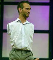 Nick Vujicic – A Man With No Arms, No Legs And No Limits!