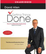 Getting Things Done: The Art Of Stress-Free Productivity - Audio CD
