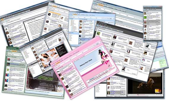 SharedMinds Desktop - Screenshot Gallery
