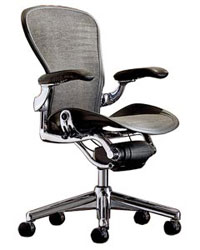 Attirant The Aeron Chair Is A Popular Office Chair Introduced By Herman Miller Back  In 1994. The Chair Is Popular For Its Ergonomic Design, Which Ensures  Comfort And ...