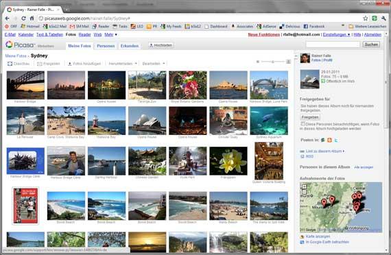 Picasa Web